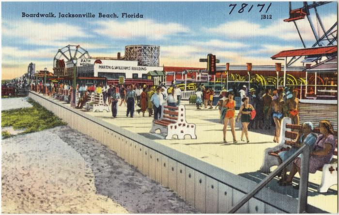 """6. """"Boardwalk, Jacksonville Beach, Florida"""""""