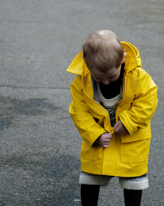 10. Don't forget a rain jacket.