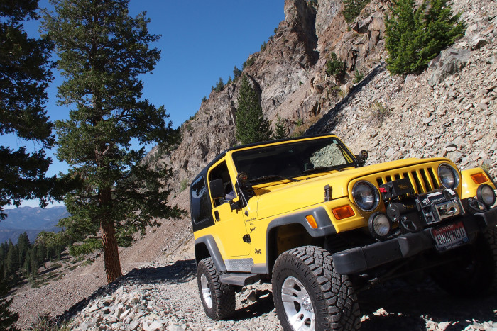 7. Off-road driving is about the only way to get to Idaho's best recreation spots.