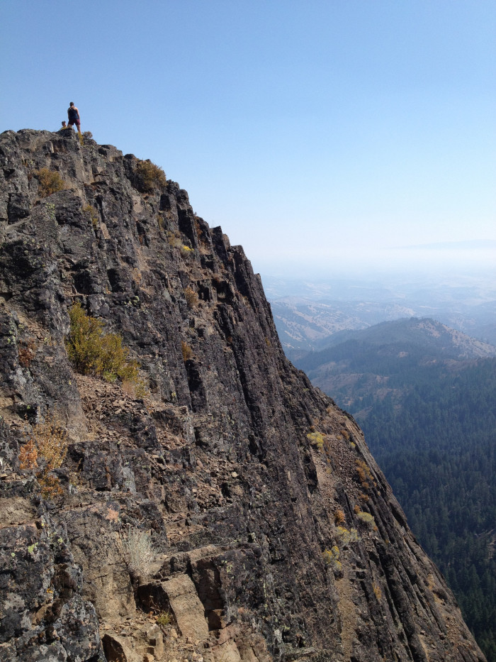 4. A view from Mount Ashland