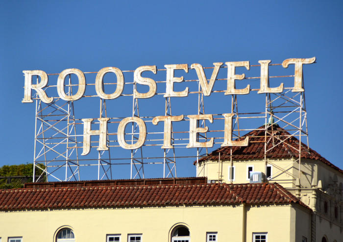 5. The Roosevelt Hotel in Los Angeles