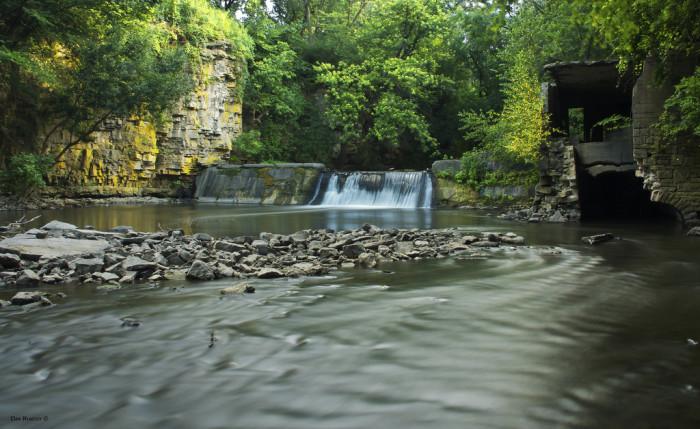 8. Willow Creek Waterfall