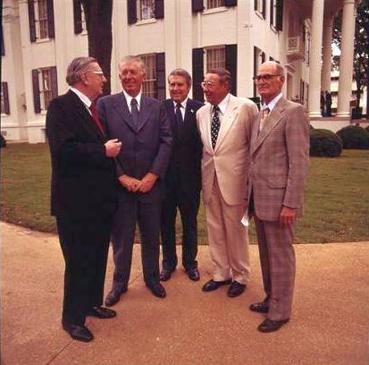 8. This candid picture was taken during the Governor's Mansion opening restoration formal ceremonies on June 8, 1976.