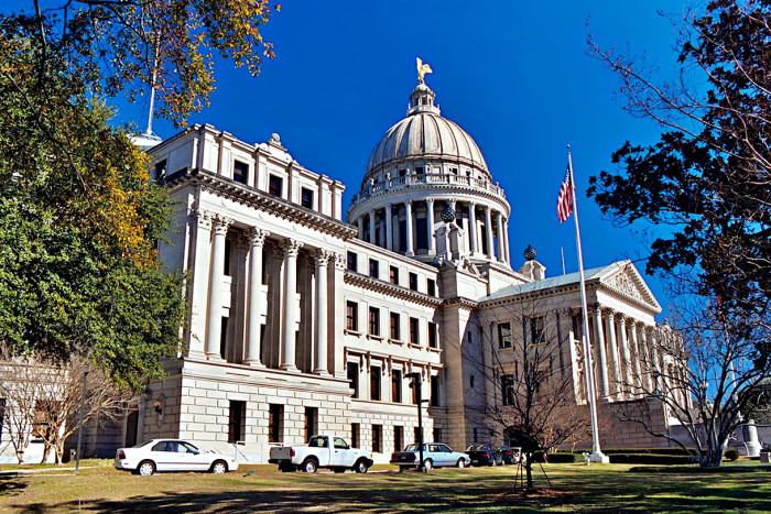 8. The Mississippi State Capitol Building