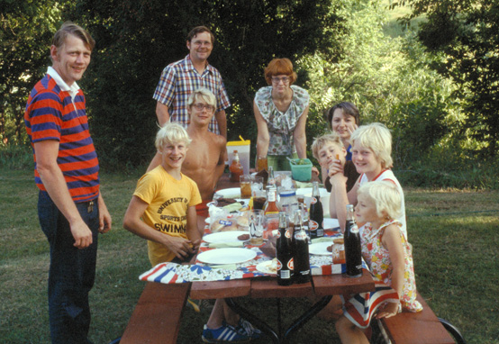8. This 1977 Fourth of July picnic in Newton looks like a happy place to be.