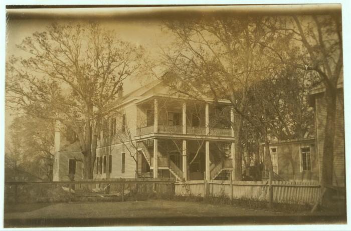 8. This picture of St. Paul's Parochial School was taken in 1916.