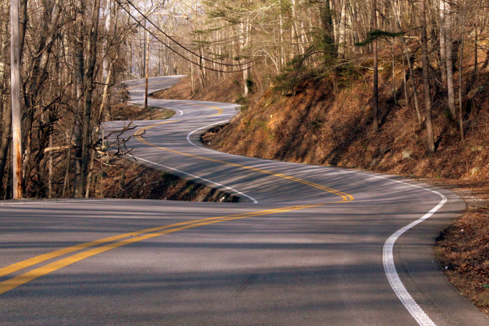 8) Every Tennessee backroad you've ever known