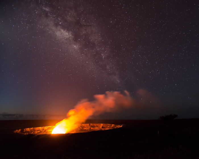 8) As one of the world's most active volcanoes, Kilauea has been actively erupting since 1983.