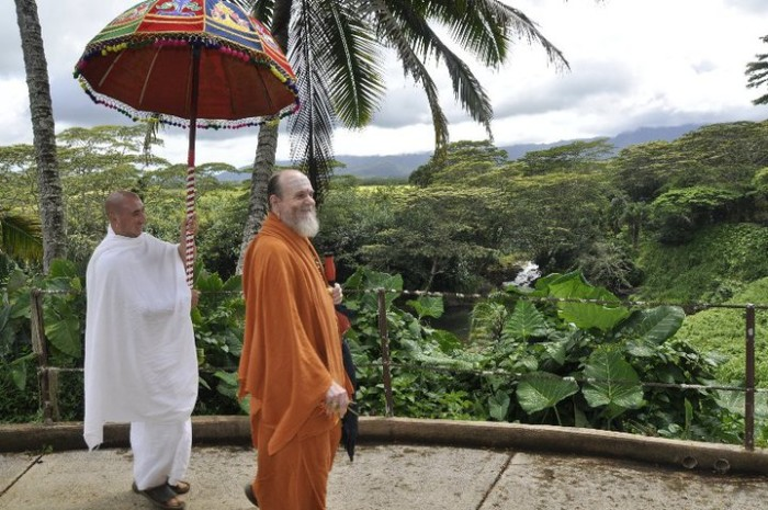 """According to the Himalayan Academy website, """"This shared spiritual activity is the anchor for the coming day in which monks serve in one of five areas: temple and kitchen, members and teaching, administration and finance, grounds and maintenance, publications and media."""""""