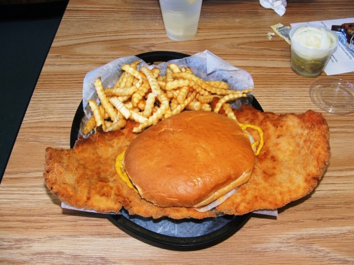 8. We know that a tenderloin is a large, breaded pork sandwich – not a cut of beef.