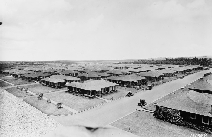 8. Housing on Schofield Barracks, as photographed in the mid-1920s.