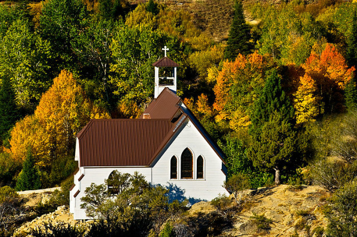 2. Our Lady of Tears Catholic Church, Silver City
