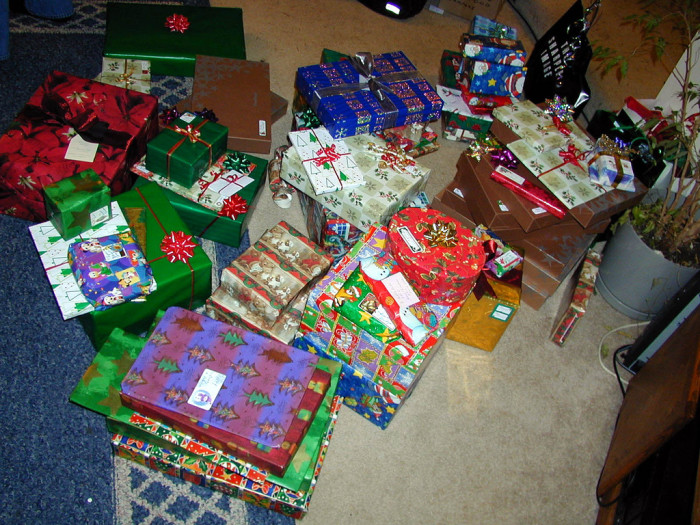 6. Kansans have to spend an arm and a leg on Christmas gifts.