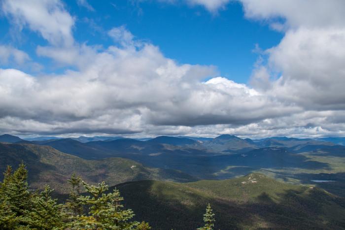 9. The mountain views.