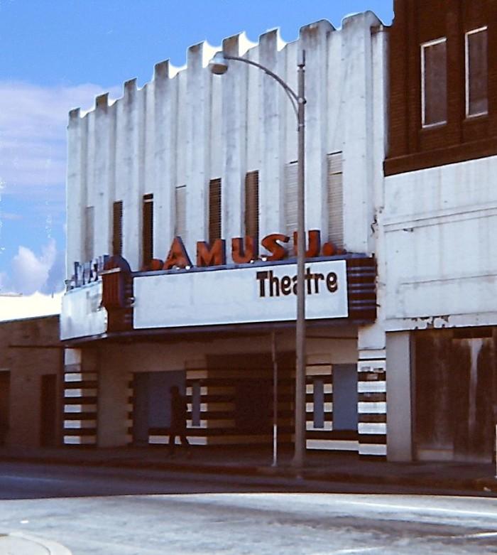 Amusu Theatre Corpus Christi Tx El Paso Kress Building