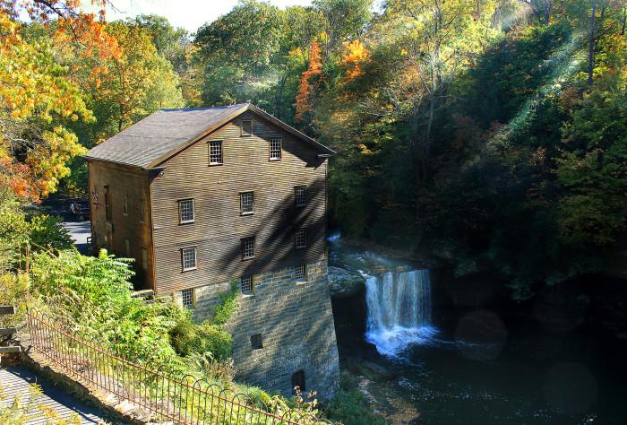 6. Lanterman's Mill Falls (Youngstown)