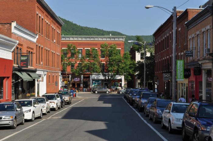 18. Downtowns are still filled with family-owned shops and friendly faces. (Railroad Street, Great Barrington)