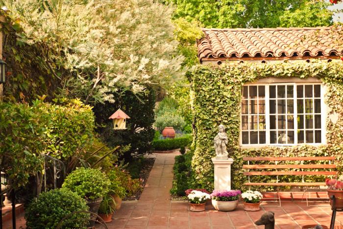Wonderful Virginia Robinson Gardens In Beverly Hills