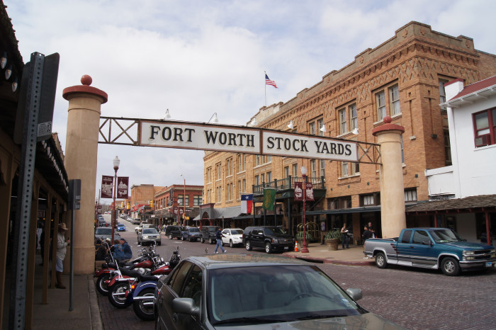 7. Head out to the historic Stockyards to experience some real country livin'.
