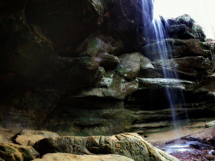 3. Big (and Little) Lyons Falls (Mohican State Park)