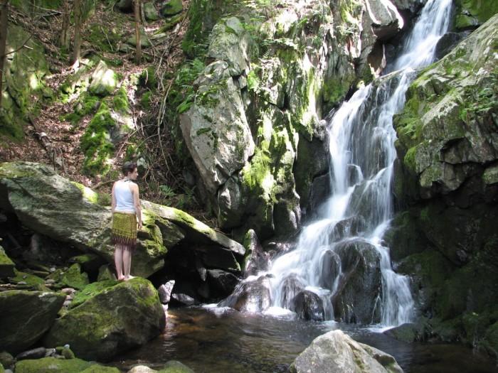 18. Goldmine Brook Falls, Chester
