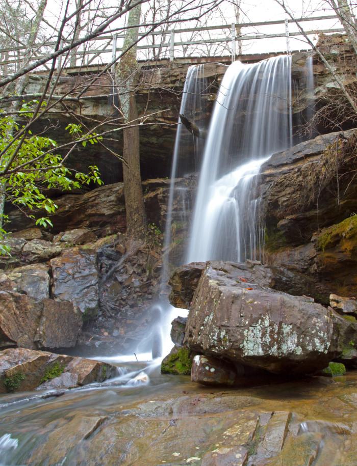 8. Indian Falls - Fort Payne, AL (DeSoto State Park)
