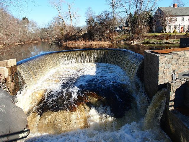 9. Shannock Horseshoe Falls, Richmond