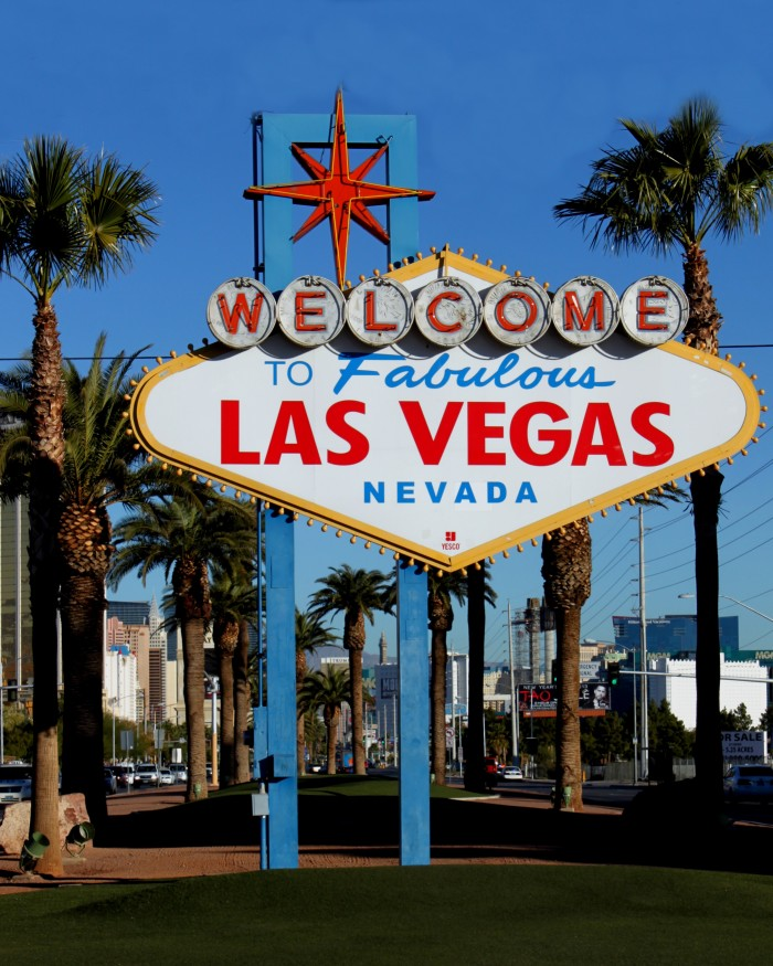 4. Las Vegas - Population 613,599 / Crime Index - 13