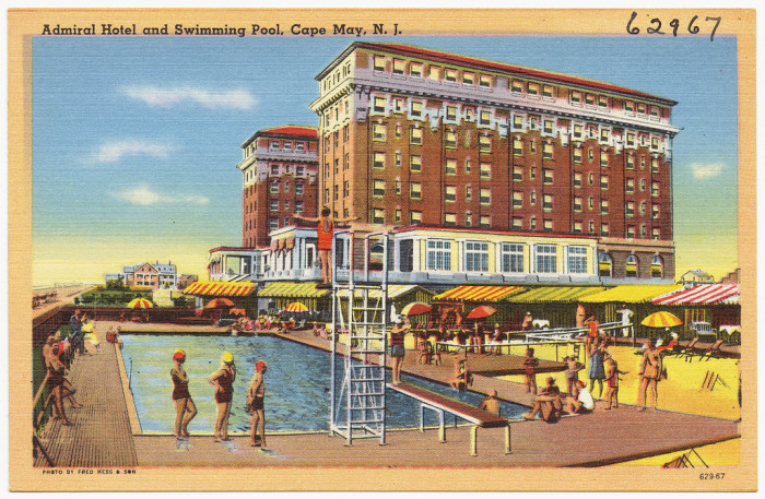 11. Admiral Hotel in Cape May in the 1930s or early 1940s.
