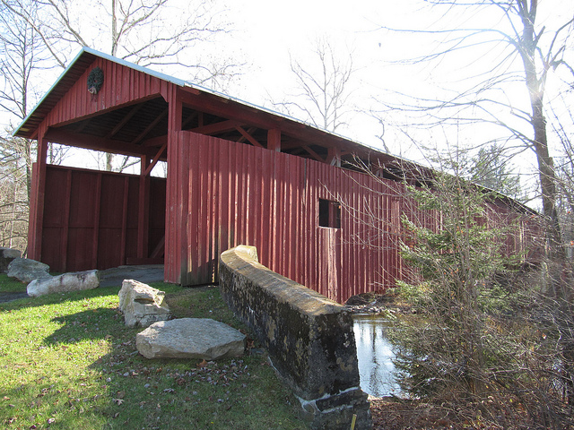 5. Covered bridges aren't a quaint and charming, unique sight to behold -- they're simply part of the scenery because you see them so often.