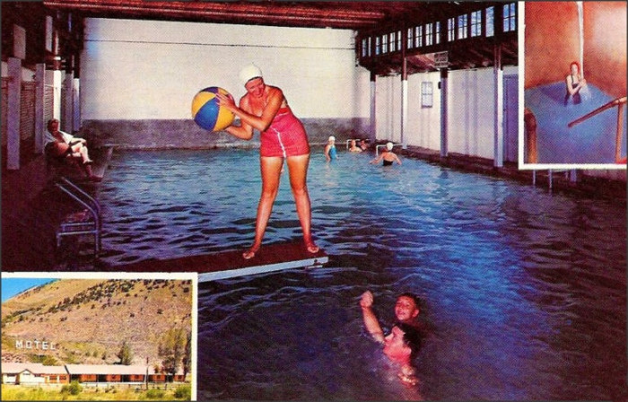 """12. """"Hot Sulfur Springs Motel and Mineral Baths."""""""