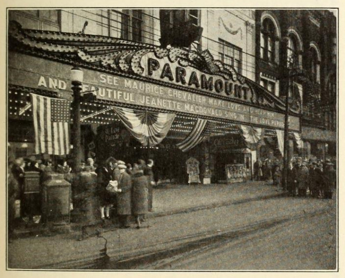 4. Paramount Theatre in Youngstown, circa 1930