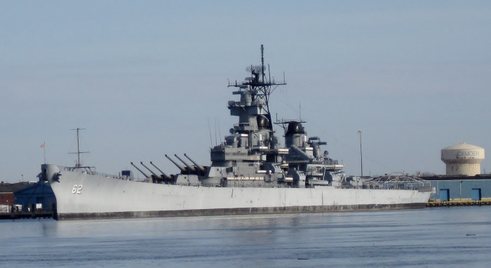 6. USS New Jersey