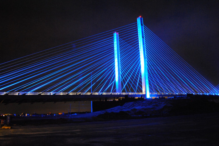 1. The Indian River Inlet Bridge (officially the Charles W. Cullen Bridge)