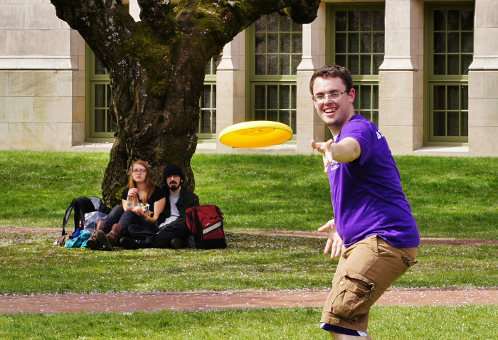 8. The Frisbee