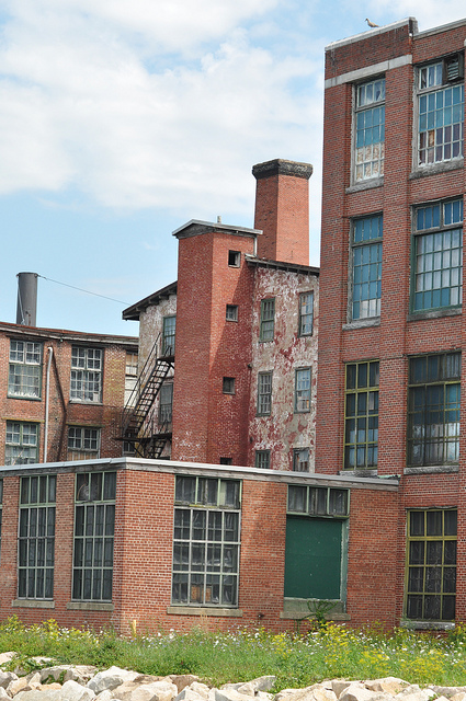 10. Old factory, Bristol. This eerie old factory located in Bristol is overwhelming in size.