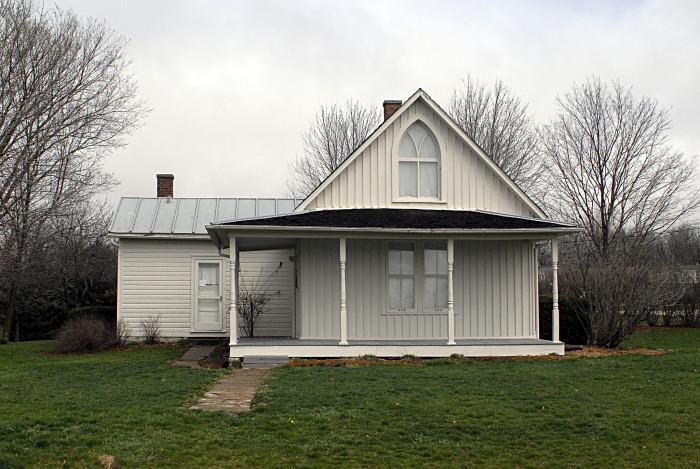 8. The American Gothic House, Eldon