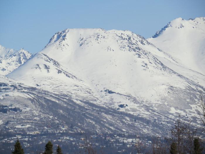 3. Flattop Mountain Sledding in Anchorage