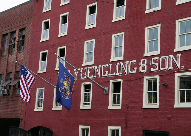 11. The country's oldest brewery, nestled in Pottsville, is a sight for sore eyes.