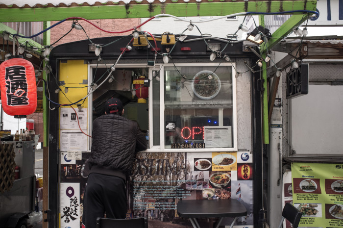 3. Eat at a food cart in Portland