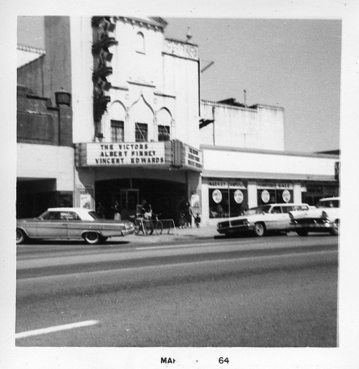 5. This is the Texas Theater, where he shot president JFK later on that year.