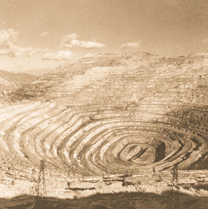 5. Kennecott Copper Mine, 1970