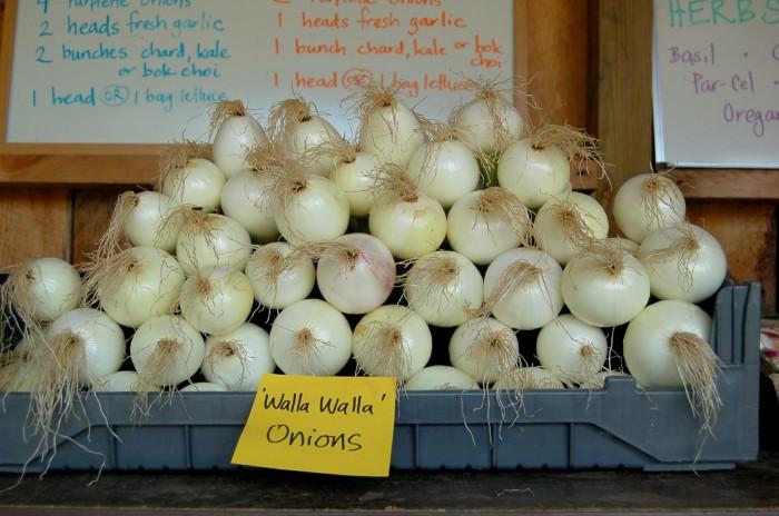 12. Walla Walla Sweet Onions
