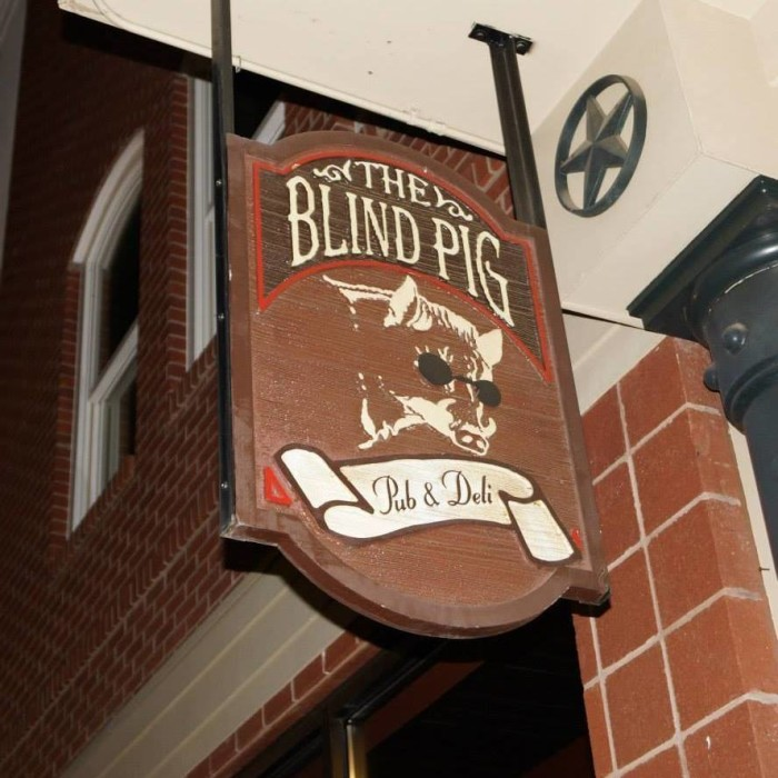 8. The Blind Pig Pub and Deli, Oxford