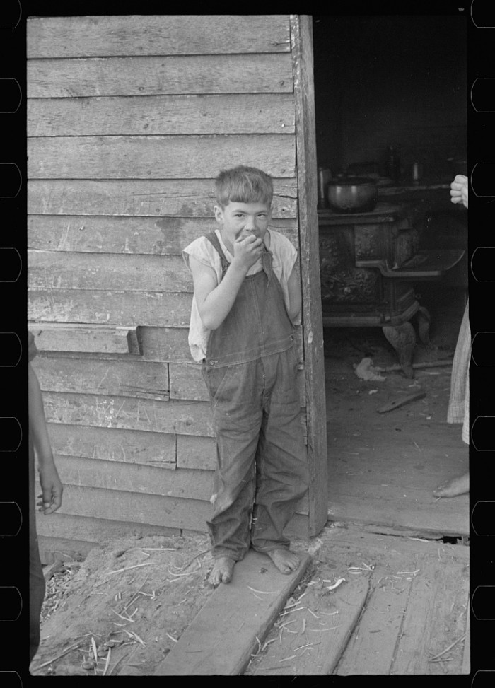 16. A boy of Corbin Hollow, in Shenandoah National Park