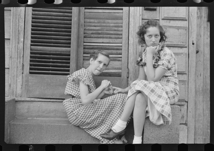 Young Residents in Amite City, LA October 1935