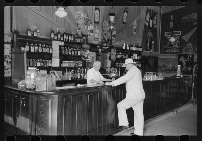 6. Decatur Street, New Orleans, September 1938