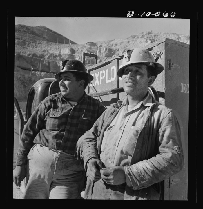 11. These two men were in charge of explosives at the Morenci mine in 1942.