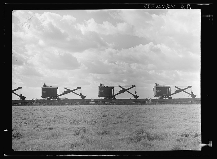 "3. ""Steam shovels. Cherokee County."" (1935)"