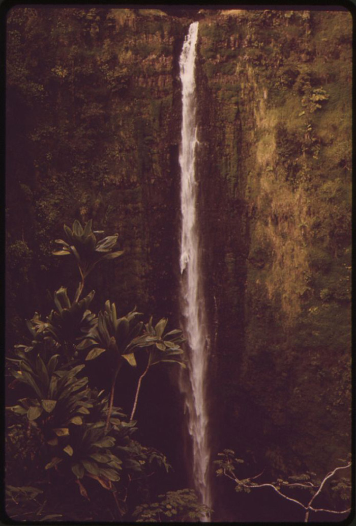 9. The breathtaking Akaka Falls has changed very little in the last several decades.
